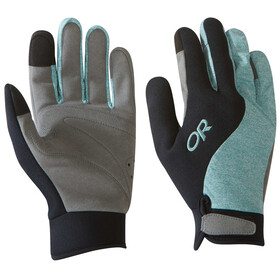 Outdoor Research Upsurge Paddle - Gants - noir/turquoise